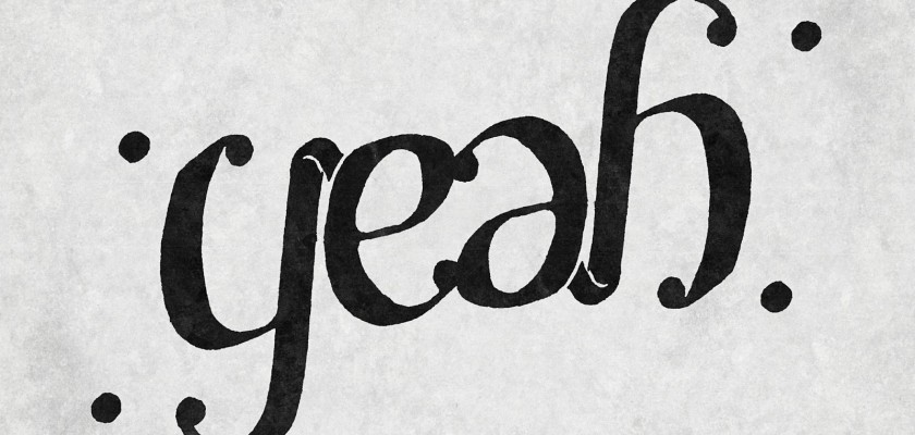 Fun with Ambigrams - Yeah