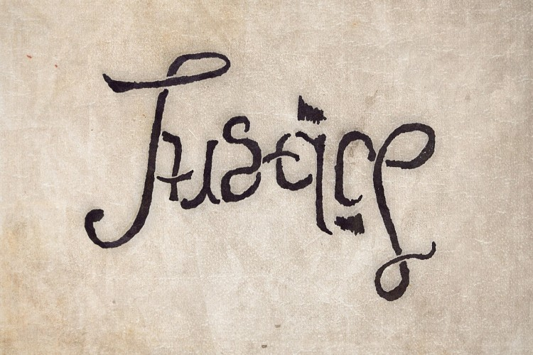 Fun With Ambigrams II - Liberty & Justice