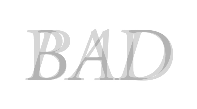 BAD---regular-+-italic---letterforms---wmiii