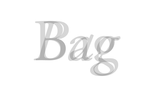 Bag---regular-+-italic---letterforms---wmiii