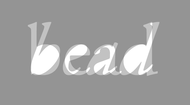 bead---regular-+-italic---letterform-outline---wmiii