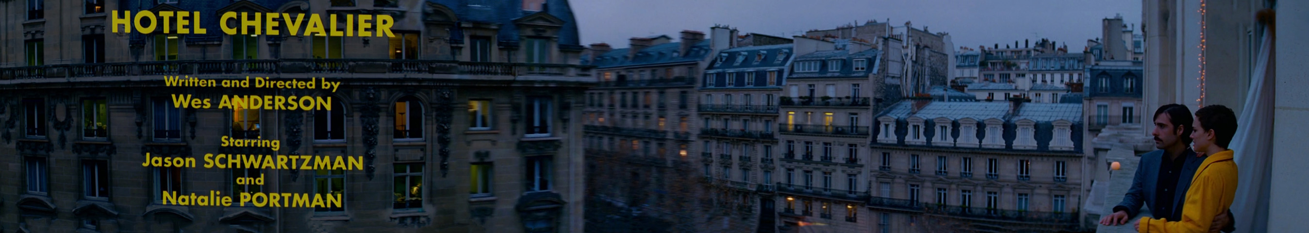 Hotel Chevalier Wes Anderson film panoramas wmiii 7