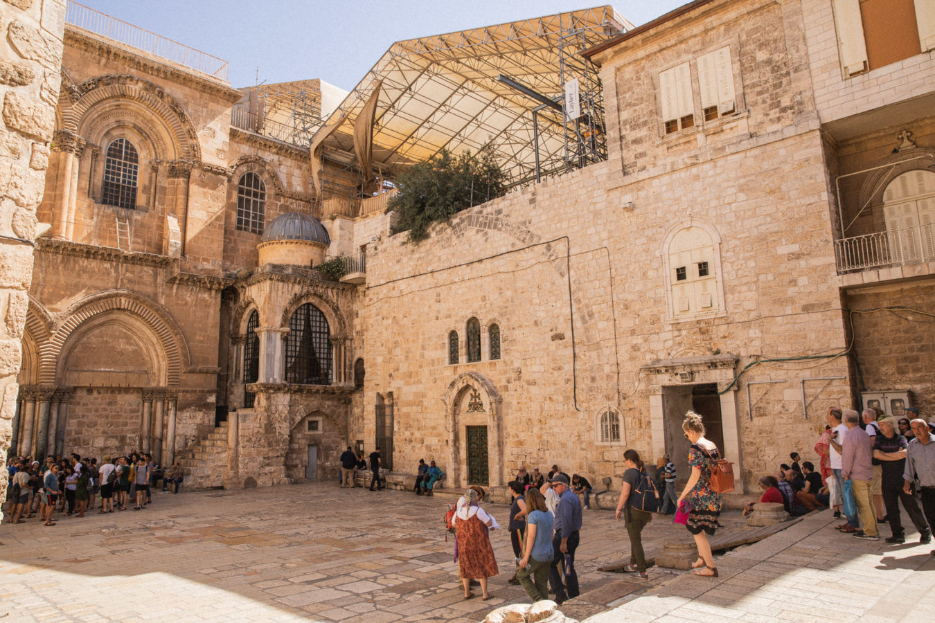 Jerusalem-church-of-the-holy-sepulcher-Israel-1